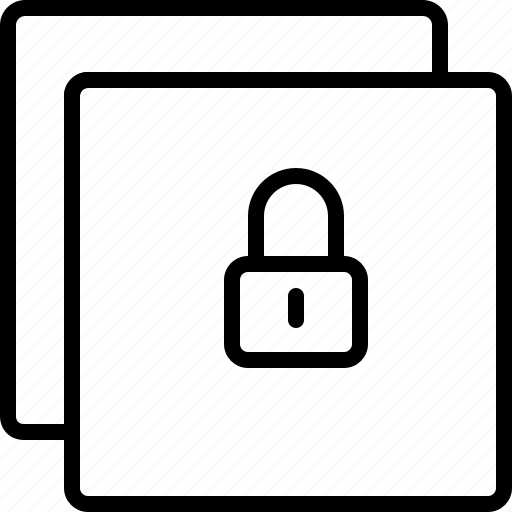 interaction, interface, lock, protection, safety, security icon
