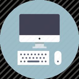 computer, desktop, display, keyboard, mac, mouse, screen icon