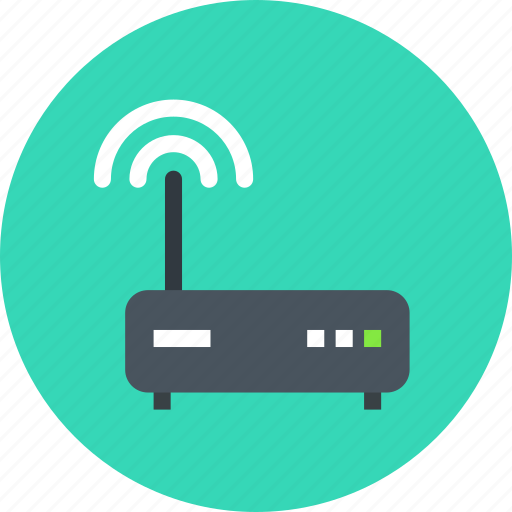 Wifi, connection, router icon