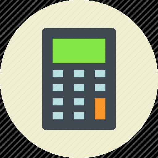 calculate, calculator, gadget icon