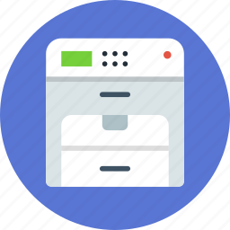 copy, device, printer icon