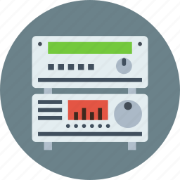 amplifier, player, receiver icon