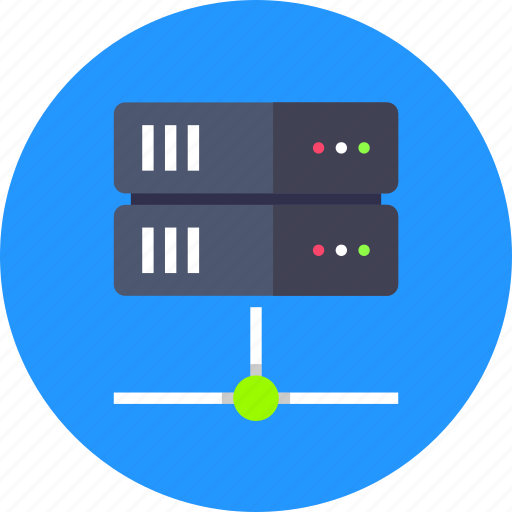 network, server, storage icon