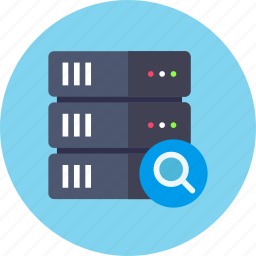 backup, base, data, database, rack, search, server icon