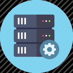 base, data, database, options, rack, server, settings icon