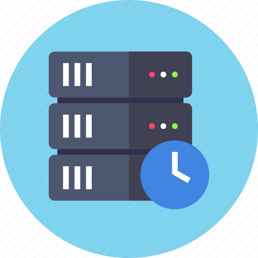 backup, rack, schedule icon