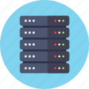 database, rack, server icon
