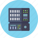 backup, base, data, database, rack, server icon