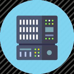 backup, base, data, database, rack, server icon