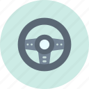 controller, game, wheel icon