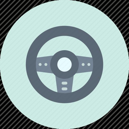 controller, game, wheel icon