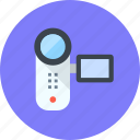 cam, device, video icon