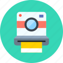 camera, device, hipster, multimedia, photo, photography, polaroid icon