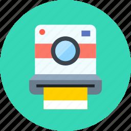camera, device, hipster, multimedia, photo, photography, polaroid icon