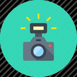 cam, camera, digital, flash, image, photo, photography icon