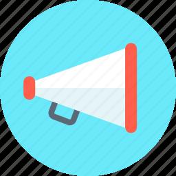 advertise, loud, megaphone, promote, speaker, talk icon