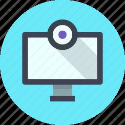 camera, tv, webcam icon