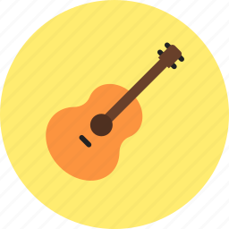acoustic, audio, guitar, instrument, music, sound icon