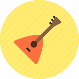 audio, balalaika, instrument, music, sound icon