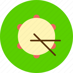 audio, drum, drums, instrument, music, sound icon