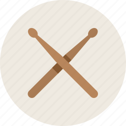 instrument, music, sticks icon