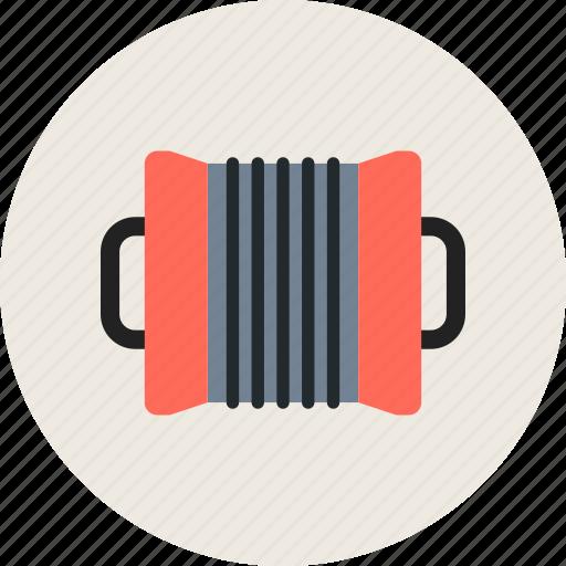 accordion, audio, instrument, music icon