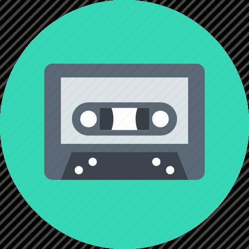 audio, music, tape icon