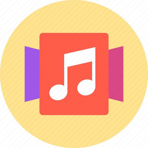 Album, music, collection icon