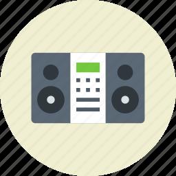 audio, center, music icon