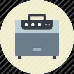 amplifier, guitar, music icon