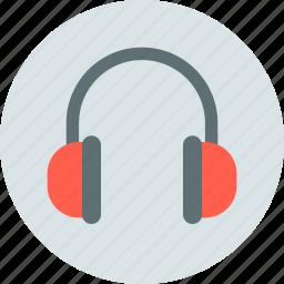 headphones, headset, music icon
