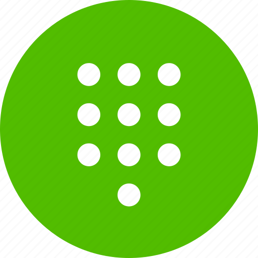 call, dial, panel icon