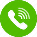call, phone, ring icon