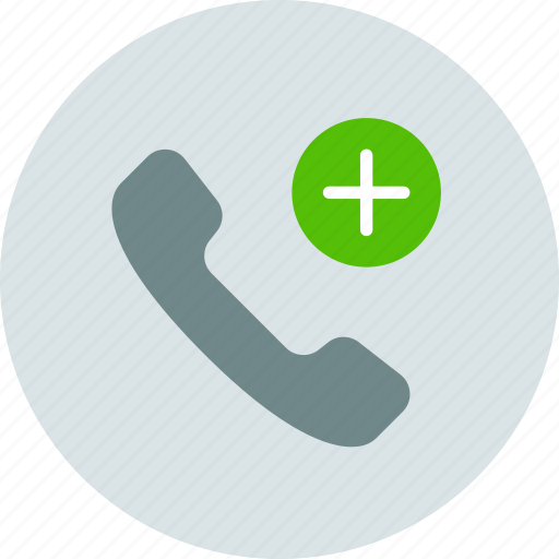 call, new contact, phone icon