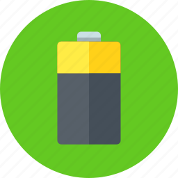 battery, electric, electricity, empty, energy icon