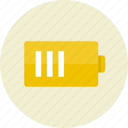 battery, electric, power icon