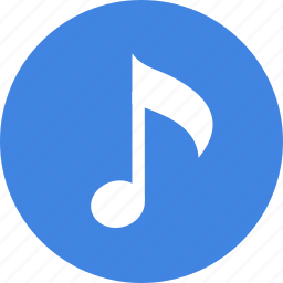 music, note, song, sound, tone icon