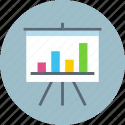 analytics, board, stats icon