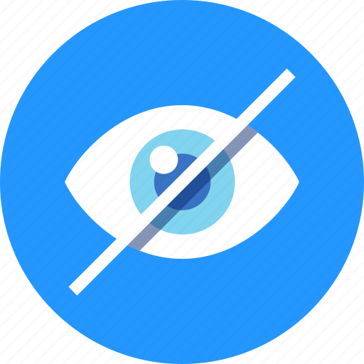 eye, hide icon