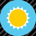 brightness, sun