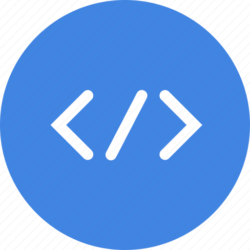 brackets, code, coding, development, html, tag icon