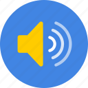 sound, speaker, volume icon
