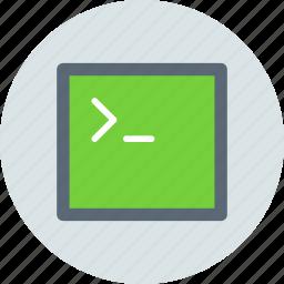 app, console, terminal icon