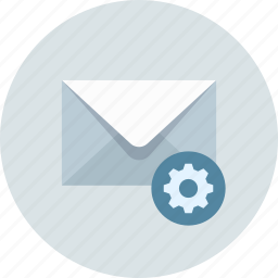 control, email, mail icon