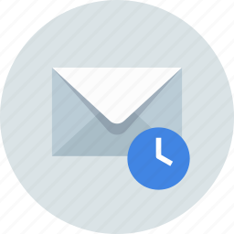 email, envelope, history icon