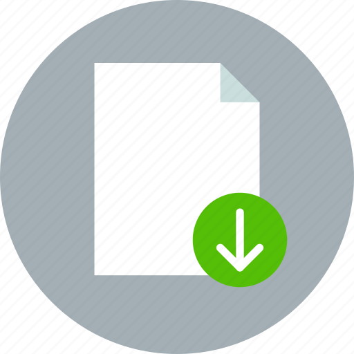 document, download, export, file, page, paper, sheet icon