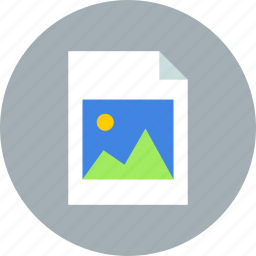 document, file, image, page, paper, photo, sheet icon