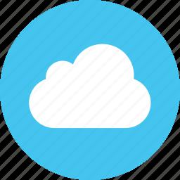 cloud, server, service, sky, weather icon