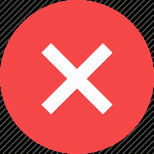 close, cross, delete icon