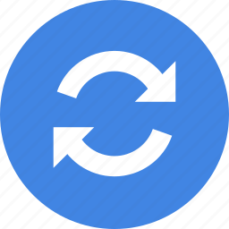 refresh, reload, sync, syncronization, update icon